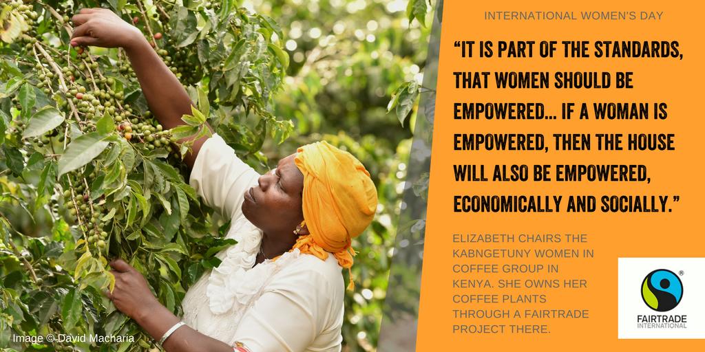 Fairtrade international coffee