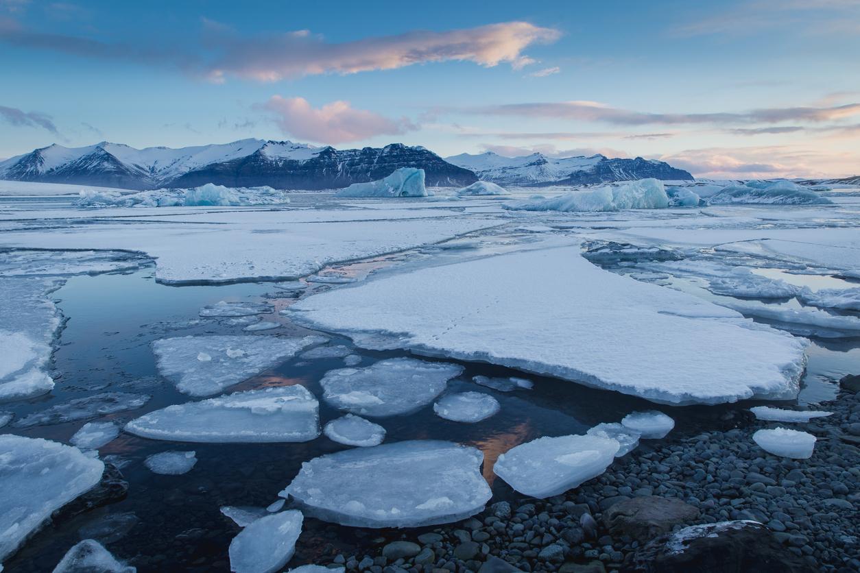 Sea-ice-melting