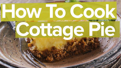 How to cook a simple cottage pie