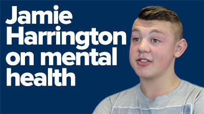 Jamie Harrington chats to SpunOut about mental health